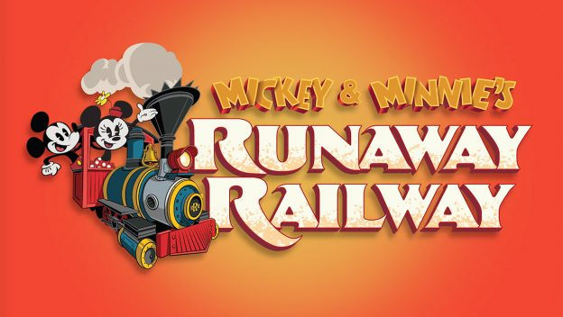 Opening Team Cast Members Take Their First Ride on Mickey & Minnie's Runaway Railway
