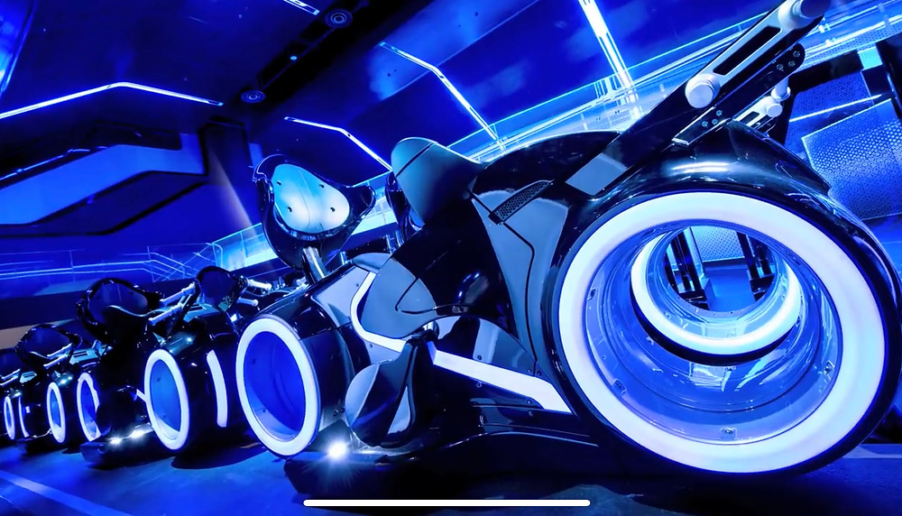 TRON Lightcycle / Run Attraction Reaches Construction Milestone at Magic Kingdom Park