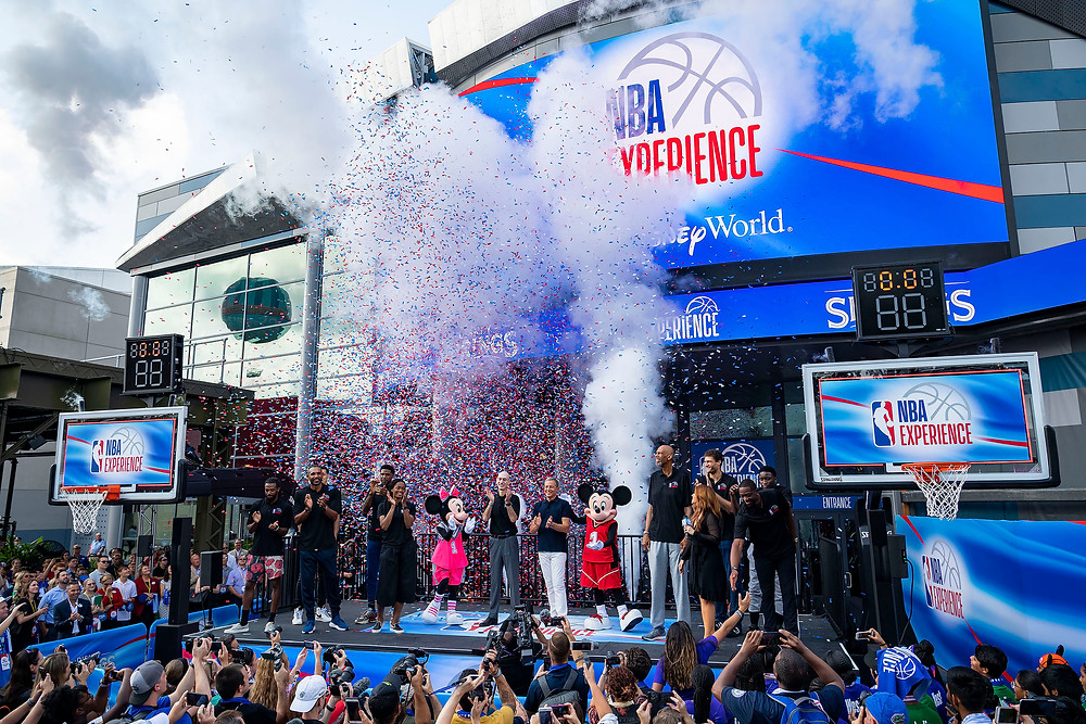NBA Experience Opens With a Slam Dunk at Disney Springs