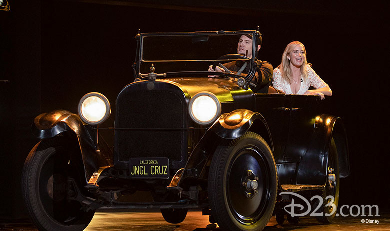 Dwayne Johnson & Emily Blunt Introduce 'Jungle Cruise' a Live-Action Movie Based on the Attraction