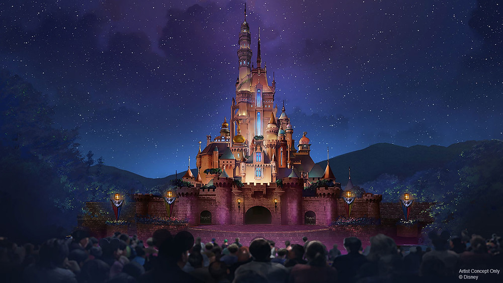 Castle Transforms to the 'Castle of Magical Dreams' at Hong Kong Disneyland