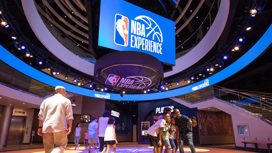 First Look: NBA Experience at Disney Springs