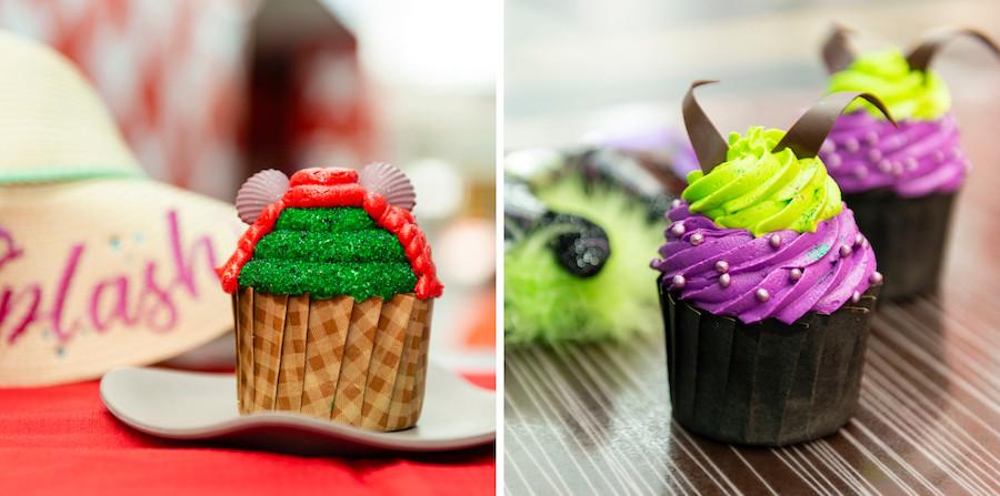 Intermission Food Court Disney's All-Star Music Resort Cupcakes