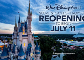 Walt Disney World Releases Statement About Reopening the Theme Parks July 11