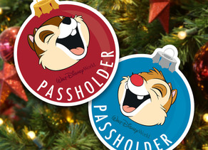 Annual Passholders Exclusive - Chip 'n' Dale Magnets at Epcot International Festival of the Holidays