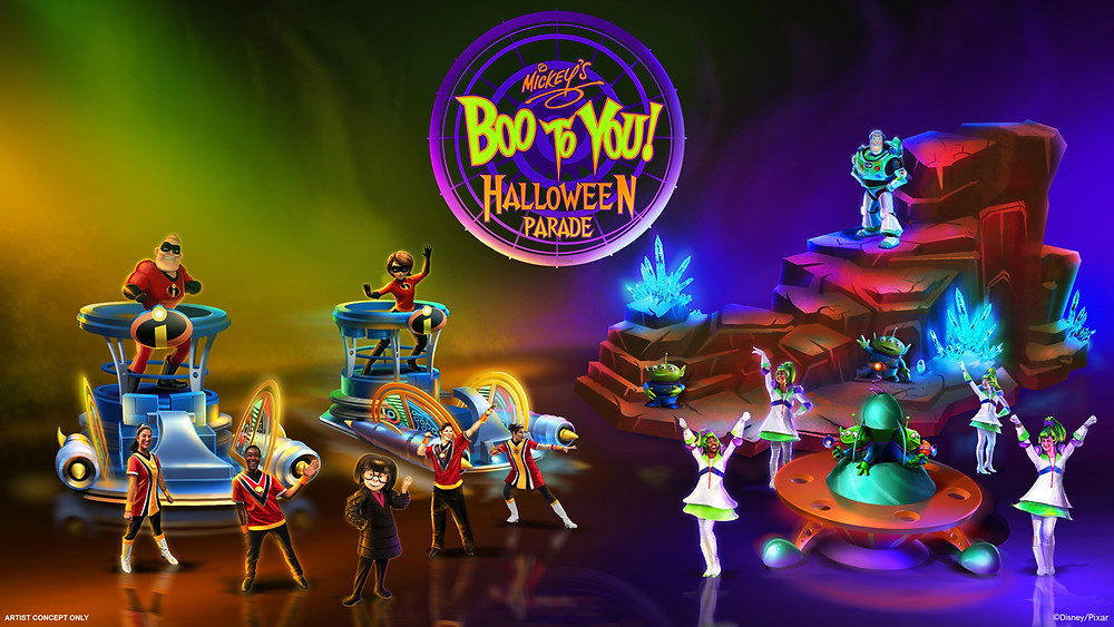 New Additions and Enhancements Coming to 'Mickey's Boo to You Halloween Parade' at Magic Kingdom