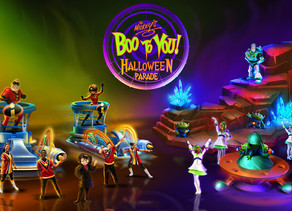 New Additions & Enhancements Coming to 'Mickey's Boo to You Halloween Parade' at Magic Kingdom