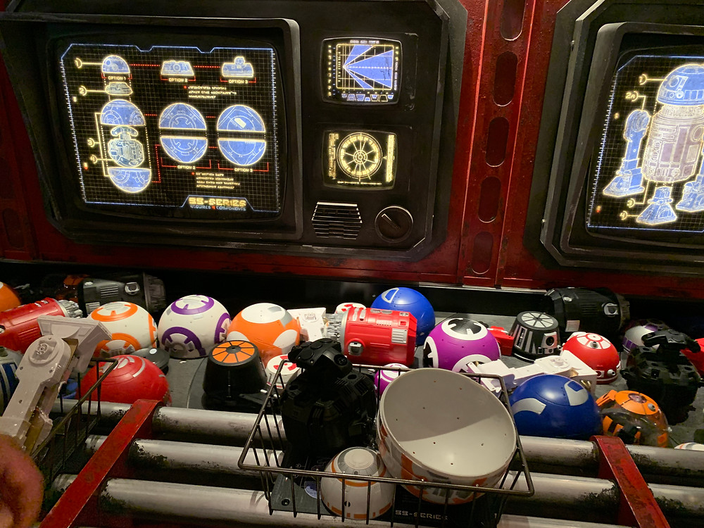 Build Your Own Droid at the Droid Depot at Star Wars: Galaxy's Edge!