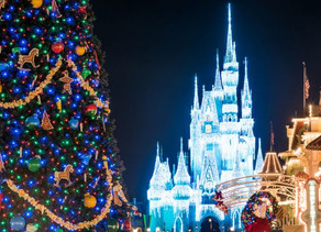 Watch Magic Kingdom Transform from Halloween to Holiday!