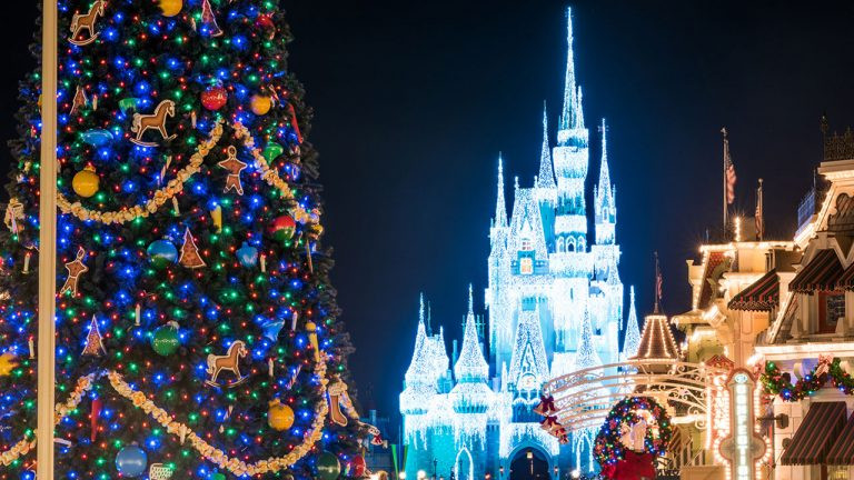 Watch Magic Kingdom Transform from Halloween to Holiday!