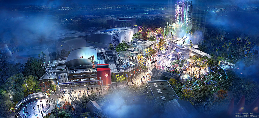 Details Revealed for Avengers Campus Coming to Disney California Adventure Park in 2020