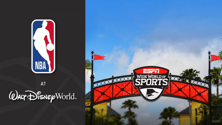 It's Official!  The NBA will Resume the 2019-2020 Season at Walt Disney World!