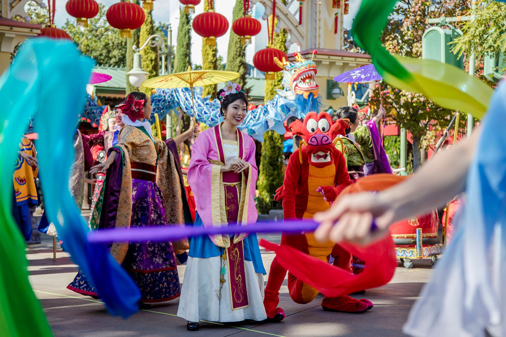 Lunar New Year Celebrates Year of the Mouse, Starting Jan. 17 at Disney California Adventure Park
