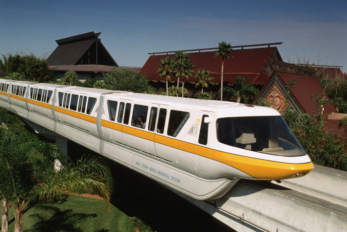 Monrail Service to Disney's Polynesian Resort Temporarily Suspended Beginning Early October 2020