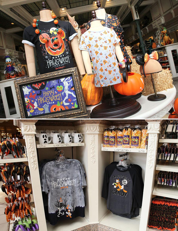2018 Disney Halloween Merchandise Collection