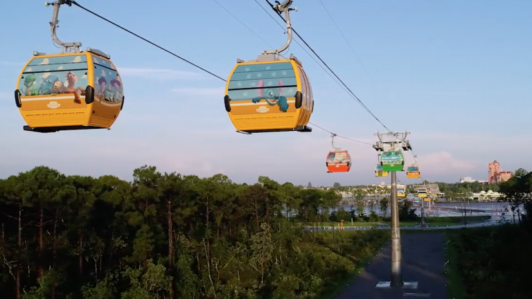 VIDEO: Views Along the Disney Skyliner Routes!