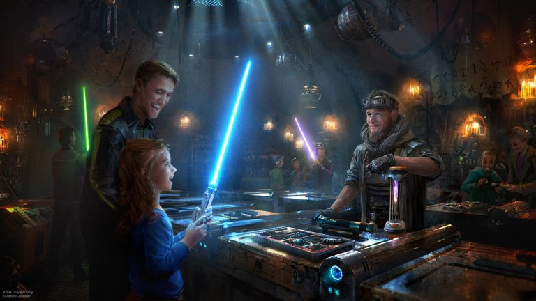 Savi's Workshop Lets You Build Your Own Customized Lightsaber at Star Wars: Galaxy's Edge