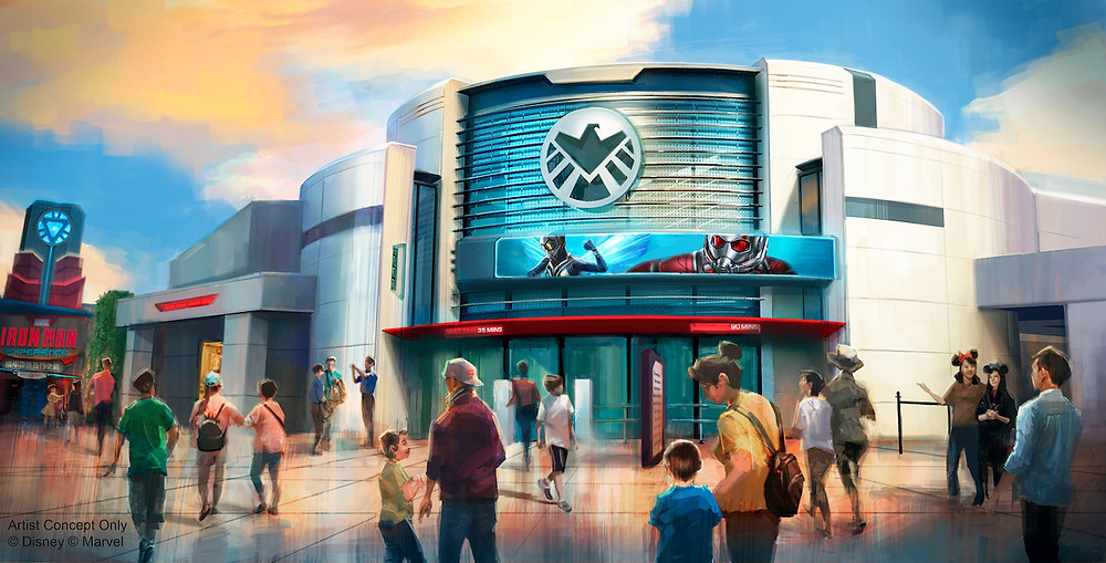 Ant-Man and The Wasp: Nano Battle! Attraction Coming to Hong Kong Disneyland in 2019