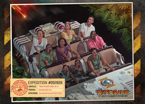 Attraction Photos Will Not Be Provided to Guests Not Wearing a Mask