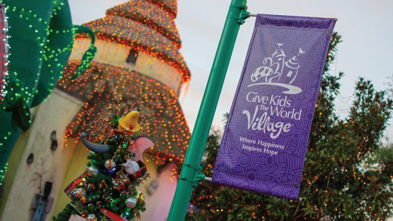 Walt Disney World Helps Light Up Give Kids The World Village and Why You Should Visit!
