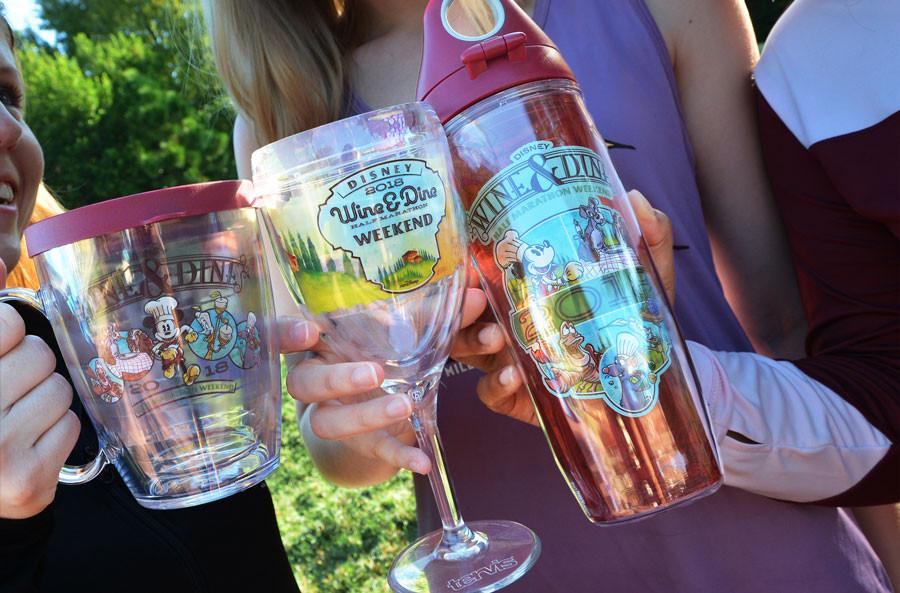 Preview: 2018 Disney Wine & Dine Half Marathon Weekend Merchandise