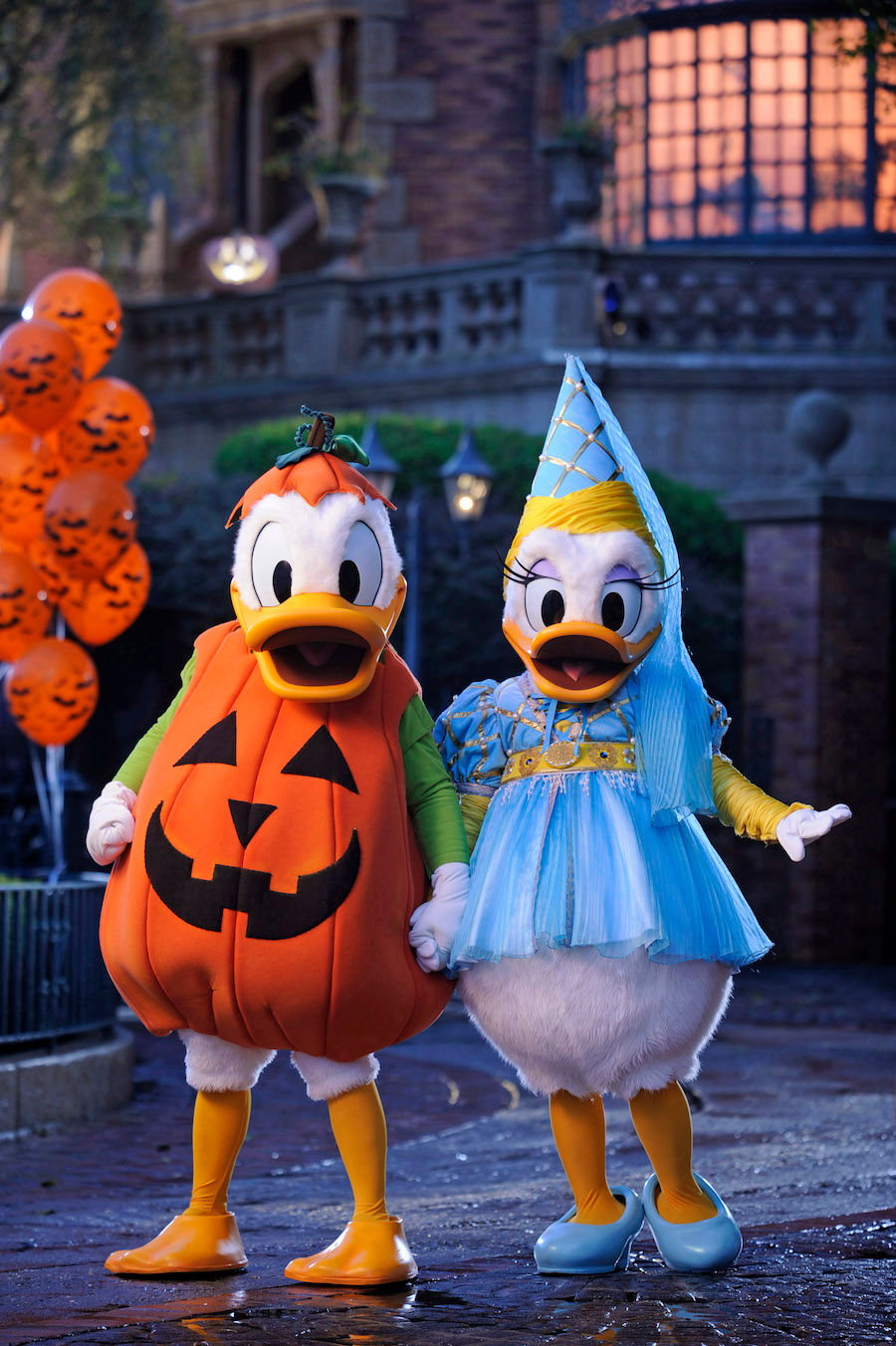 list of characters & where to find them at mickey's not-so-scary
