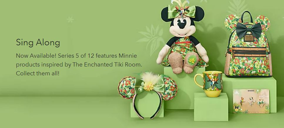 Minnie Mouse: The Main Attraction May Collection Inspired by The Enchanted Tiki Room Just Released!
