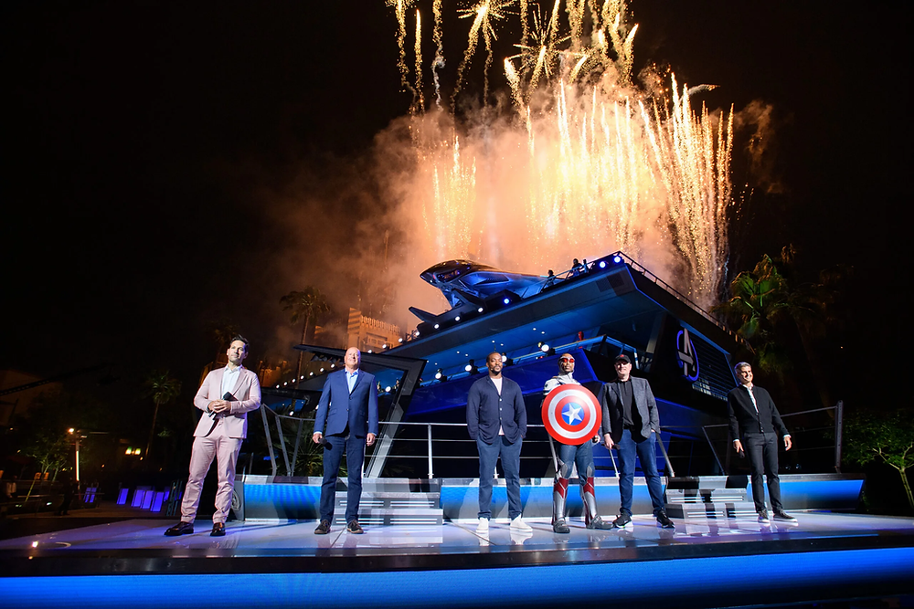 Avengers Campus Grand Opening Ceremony!