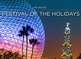 The EPCOT International Festival of the Holidays Returns November 27 - December 30, 2020