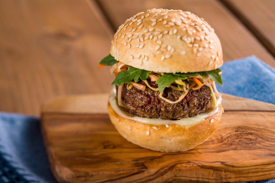 Earth Eats Impossible Burger - Epcot Food & Wine