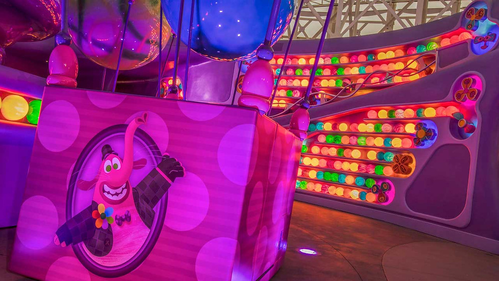 First Look at the Inside Out Emotional Whirlwind Coming to Disney California Adventure Park