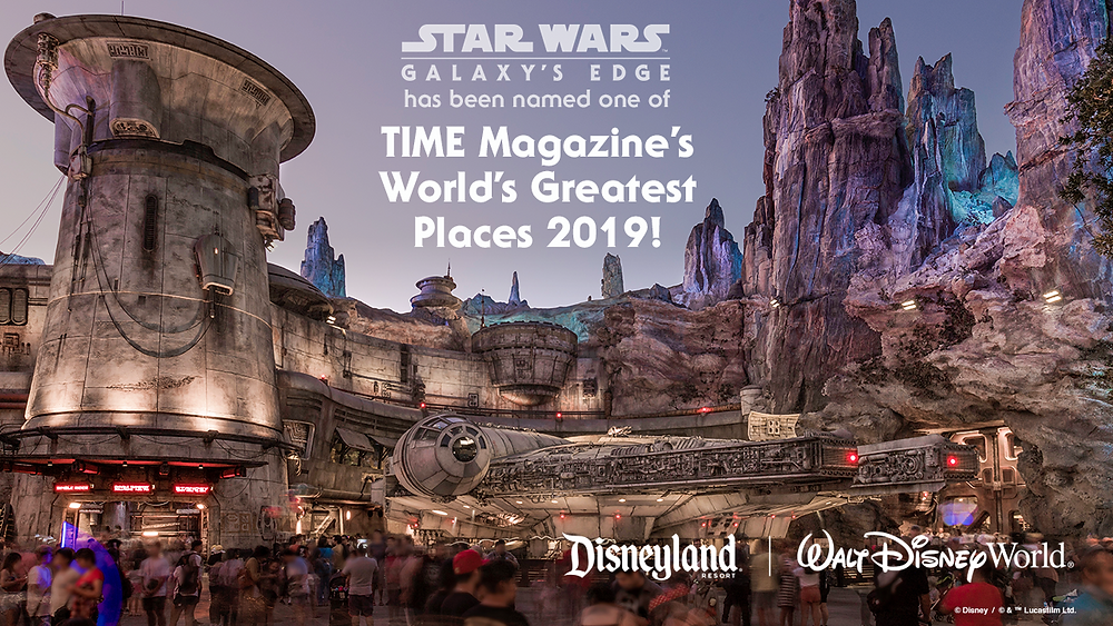 Star Wars: Galaxy's Edge Named One of TIME Magazine's 2019 'World's Greatest Places'