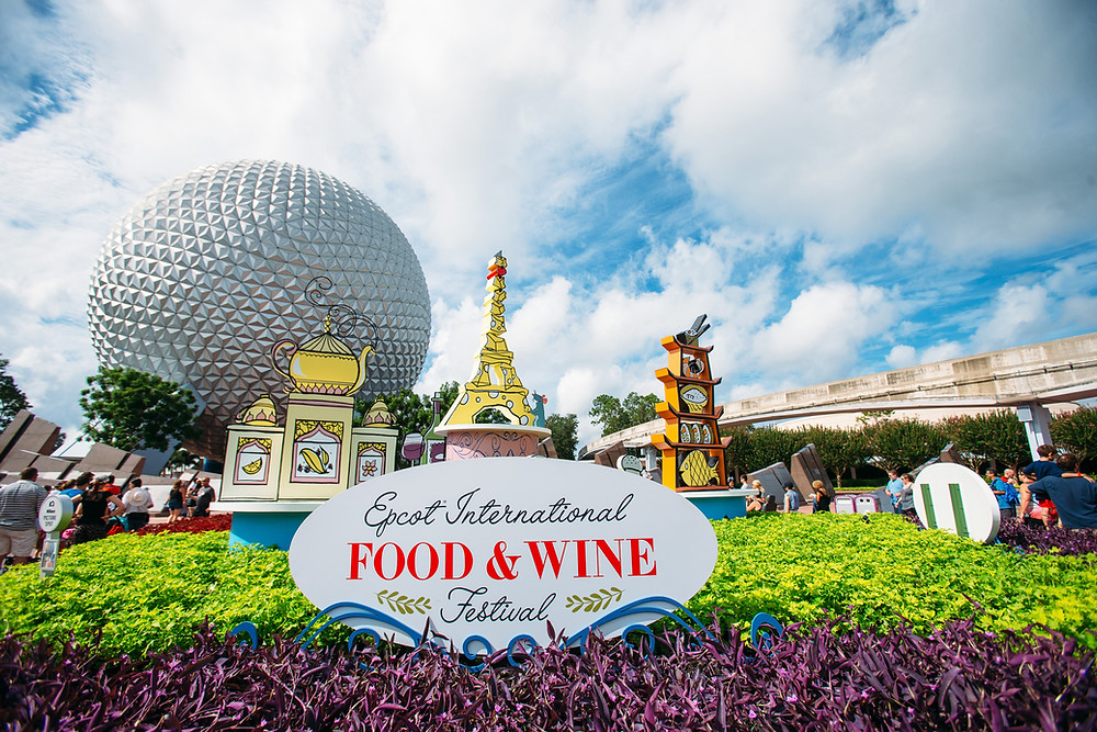 The 24th Epcot International Food & Wine Festival is Now Open!