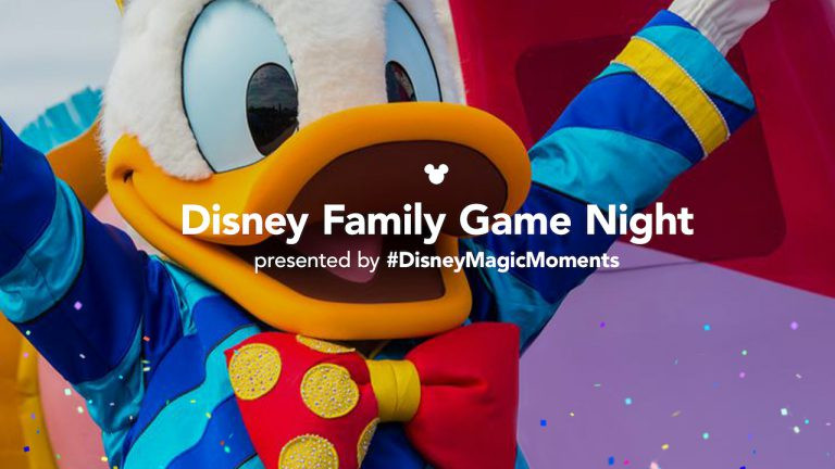 Disney Family Game Night Debuts Tonight at 7PM ET With Trivia!
