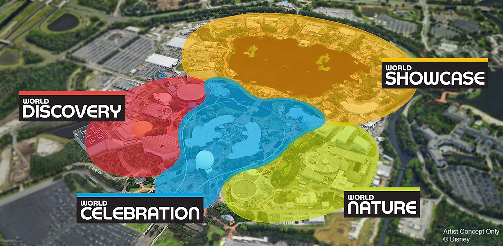 BREAKING: A Lot of New Details Revealed for the Historic Transformation of Epcot!