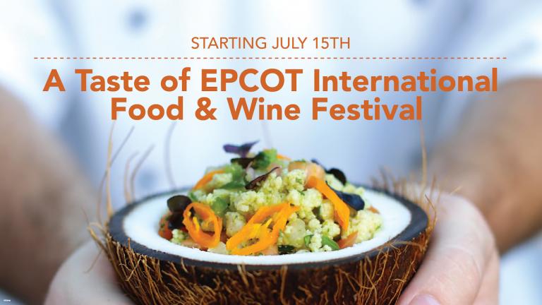 Taste of Epcot Food & Wine Festival Menus Revealed!