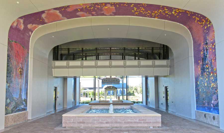 Look at the Beautiful Mosaics at Disney's Riviera Resort!