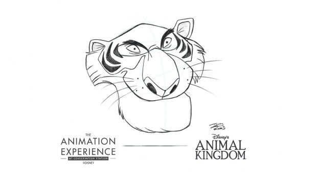 The Animation Experience at Animal Kingdom Now Features Animal 'Villain' Drawing Tutorials