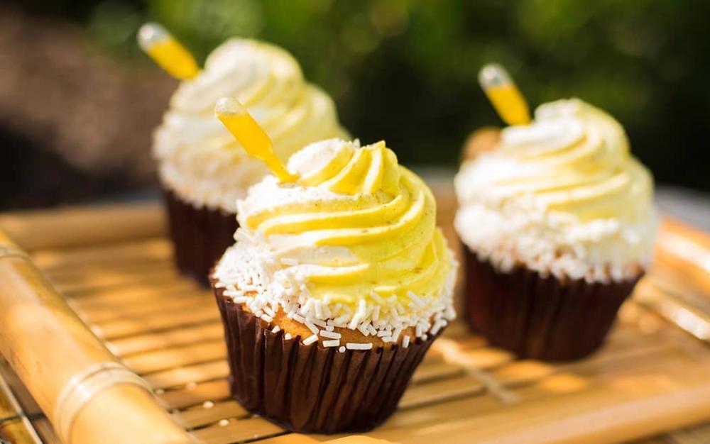 Dole Whip Cupcake, Disney World