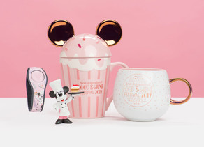 Add Some Sparkle With The New Chefs Minnie & Mickey Merchandise at the Epcot Food & Wine Festival!