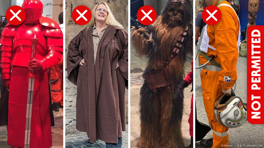 Costume Guidelines for Your Visit to Star Wars: Galaxy's Edge at Disneyland Resort