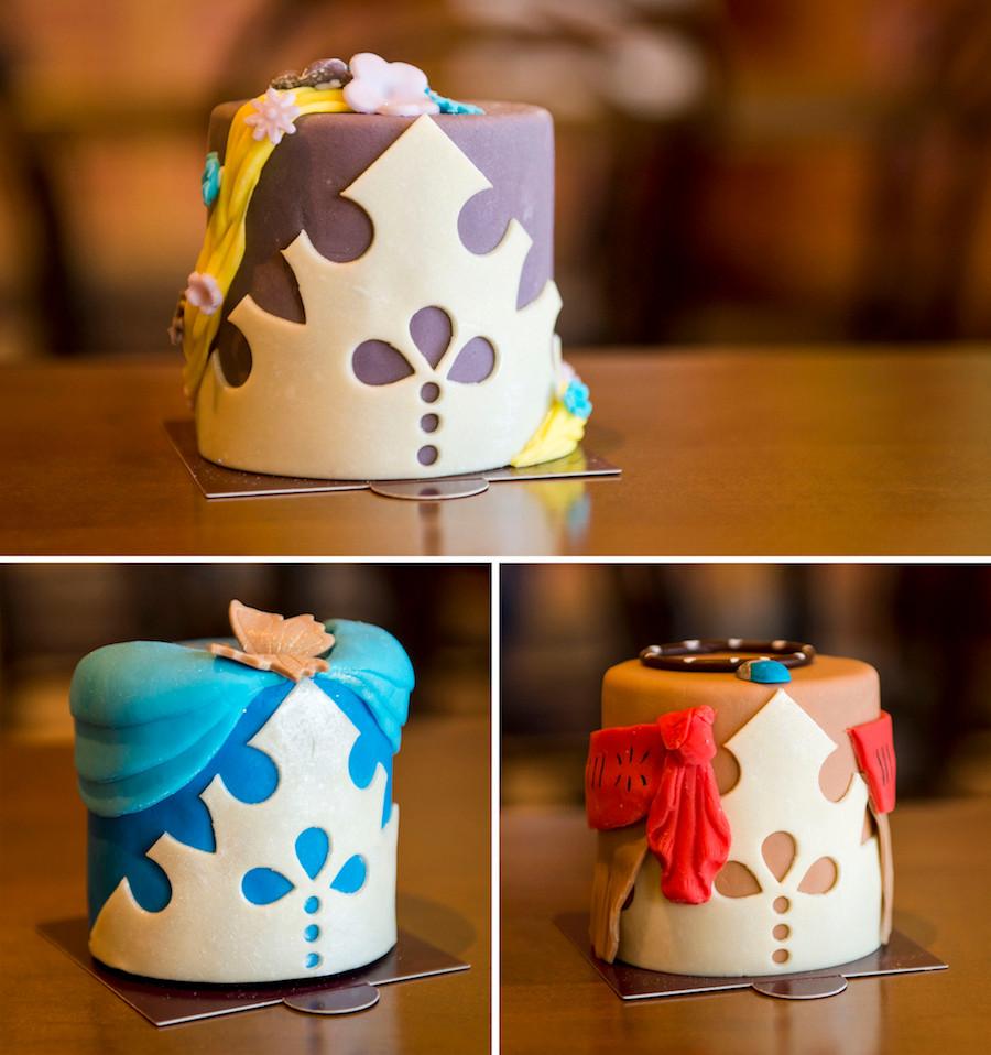 Disney Springs Princess Cakes