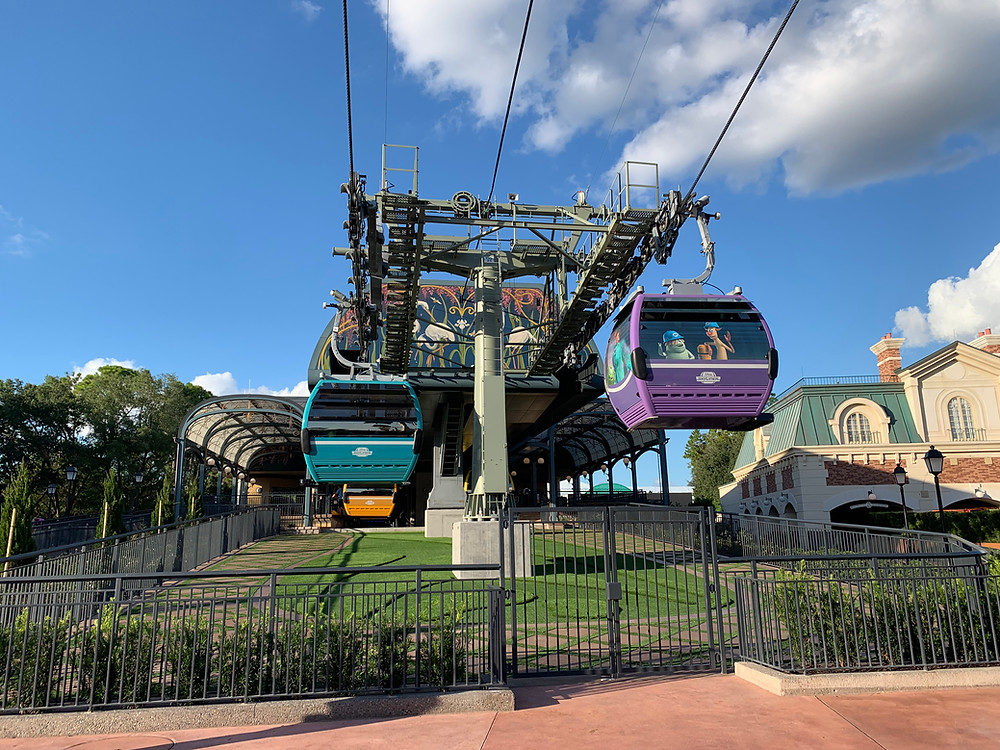 The Disney Skyliner is Operating Today!