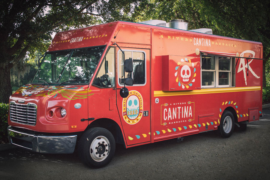 A New Food Truck - 4R Cantina Barbacoa - Opens in Late August at Disney Springs