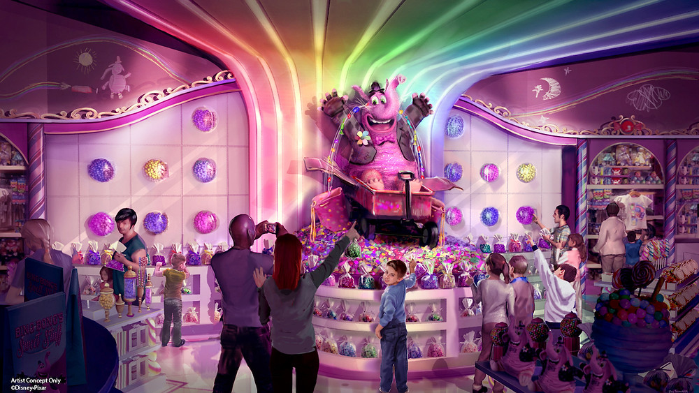 New Sweet Treats Coming to Bing Bong's Sweet Stuff in Pixar Pier at Disney California Adventure Park