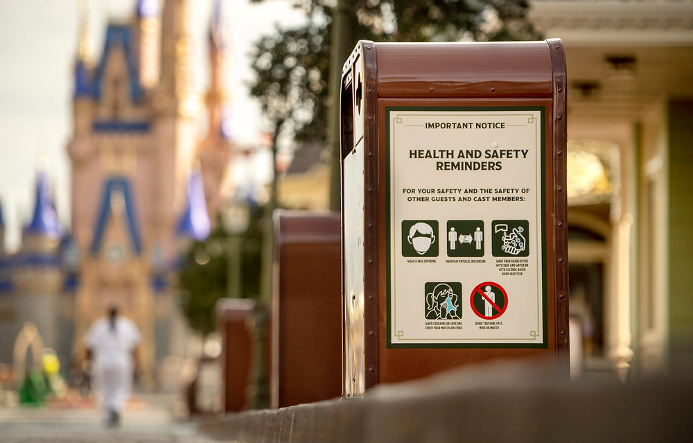 Walt Disney World Updates Face Mask Policy - Guests Should Be Stationary if Eating or Drinking