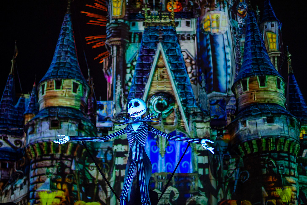 FIRST LOOK: The New Jack Skellington-Hosted 'Disney's Not So Spooky Spectacular' Fireworks