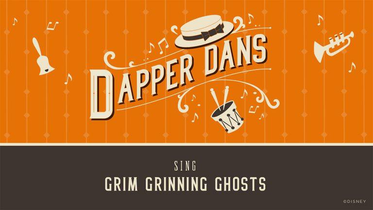 Dapper Dans Perform 'Grim Grinning Ghosts'