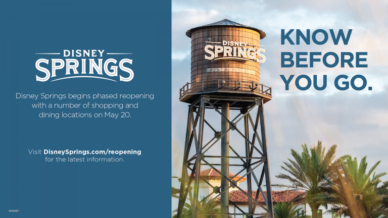 New Health & Safety Requirements for Visiting Disney Springs