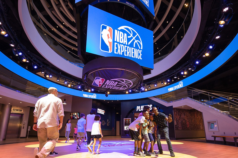 Watch the Replay of the Grand Opening Ceremony of the NBA Experience at Disney Springs